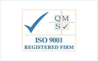 ISO 9001 Certified Accreditation